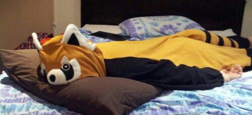Image of: Onesie Pajamas Image Kigurumi Shop The Panda Haus Thepandahauscom My Red Panda Onesie thanks