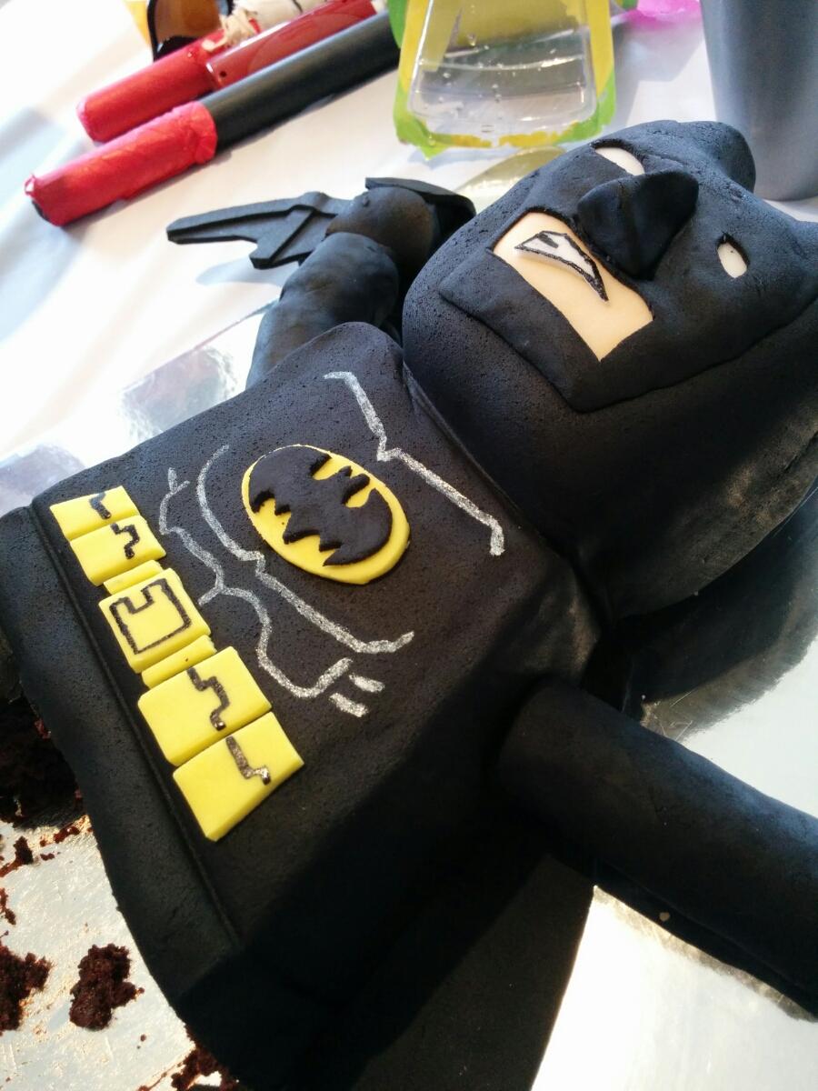 The Panda Haus thepandahauscom Lego Batman birthday cake